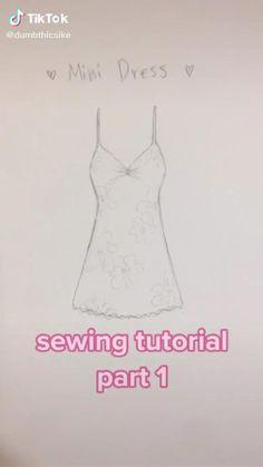 Sewing Basics, Sewing Hacks, Sewing Tutorials, Sewing Projects, Sewing Lessons, Dress Tutorials, Diy Clothes Design, Kleidung Design, Diy Fashion Hacks