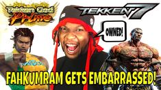 FAHKUMRAM GETS EMBARRASSED! (Tekken 7 Season 3)- Eddy Gordo, Tekken God ...