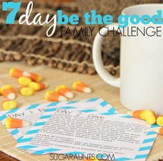 7 Day Be the Change Family Challenge