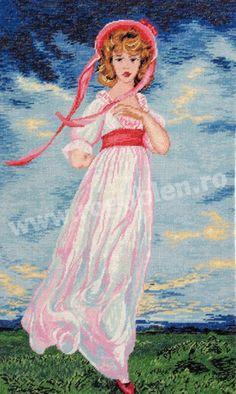 Cod produs: 4.07 Pinkie Culori: 27 Dimensiune: 20 x 31 cm Point, Disney Characters, Fictional Characters, Cross Stitch, Disney Princess, Sewing, Art, Crosses, Embroidery
