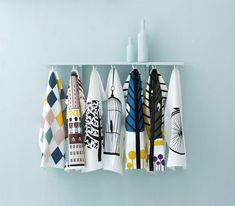 Ferm Living Tea Towels bring the best of Scandinavian design into your kitchen. The tea towel is the product of 18th century England. It was a special linen drying cloth that only the mistress of the house used to dry her precious and expensive china (the servants weren't trusted to do such delicate work). Even …