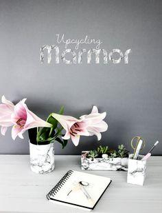 Marmor {Upcycling DIY} by http://titatoni.blogspot.de/