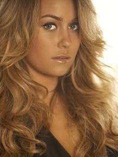blonde hair brown eyebrows