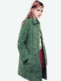Hailey Clauson for Zara TRF Fall 2011 Campaign