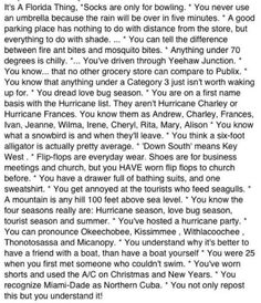 It's a Florida thing!