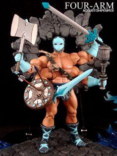 Four-Arm (MOTUC Original) (Masters of the Universe) Custom Action Figure