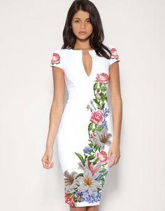 Simple Dresses, Casual Dresses For Women, Pretty Dresses, Couture Dresses, Fashion Dresses, Hand Painted Dress, Dress Making Patterns, Everyday Dresses, Wool Dress