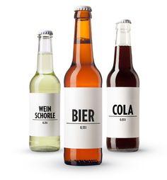 BIER, WEINSCHORLE, COLA – Geschmack braucht keinen Namen