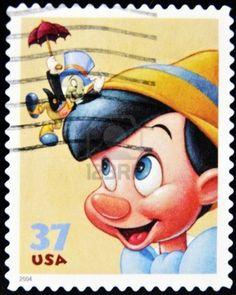 Pinocchio Stamp