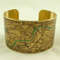 Vintage London Map