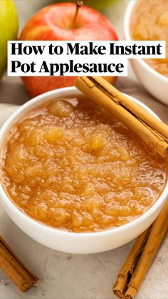 Instant Pot Pressure Cooker, Pressure Cooker Recipes, Thanksgiving Recipes, Fall Recipes, Recipe Fo, Healthy Recepies, Homemade Applesauce, How To Eat Paleo, Side Recipes