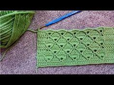 Crochet Bedspread, Crochet Blanket Patterns, Baby Blanket Crochet, Crochet Stitches, Crochet Baby, Crochet Top, Knitting Patterns, Vest Pattern, Crochet Videos