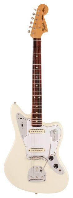 Fender Electric Guitar Johnny Marr Jaguar Signature Model Olympic White