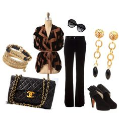 A very Chanel inspired outfit... :)