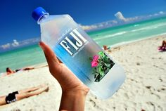 I don't know how much I buy into that whole natural artesian aquifer crap but I am a sucker for the Fiji water