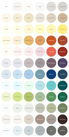 Earthborn paints 2015 colours, eco paint