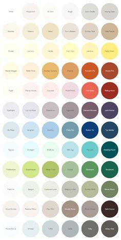 Earthborn paints 2015 colours, eco paint
