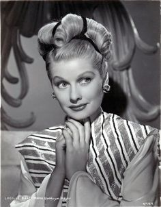 Lucille Ball in the 1940's.....Uploaded By www.1stand2ndtimearound.etsy.com