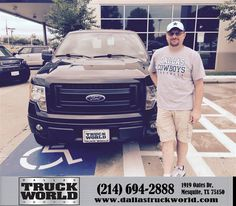 "https://flic.kr/p/u1JWP3 | Congratulations to Calvin Dean on your #Ford #F-150 from Harold Bennett at Dallas Truck World! #NewCar | <a href=""http://www.dallastruckworld.com/?utm_source=FlickR&utm_medium=DMaxxPhoto&utm_campaign=DeliveryMaxx"" rel=""nofollow"">www.dallastruckworld.com/?utm_source=FlickR&utm_mediu...</a>"