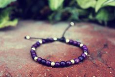 This bracelet is made out of Achira rainforest seeds and silver colored beads. - Can custom make these in other colors and beads. Thanks for checking out my shop! I Shop, Beaded Bracelets, Buy And Sell, Beads, Purple, Silver, Handmade, Stuff To Buy, Etsy