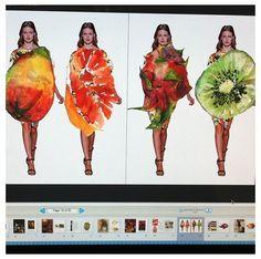 xeri fruit drawings