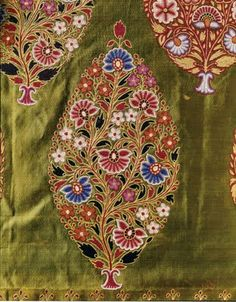 I am introducing the special exhibit at the Kobe Fashion Museum in Rokko Island, CHOZETSU embroidery - Works from Europe, India, and Japan. Embroidery Works, Indian Embroidery, Embroidery Fashion, Hand Embroidery Designs, Embroidery Thread, Floral Embroidery, Beaded Embroidery, Couture Embroidery, Textile Pattern Design