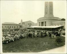 April 30th, 1926: The formal dedication of the #LSU campus as we know it today.