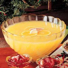 Citrus Punch (2 cups pineapple juice  2 cups orange juice  1 cup grapefruit juice  1 cup lemonade 2 cups ginger ale)
