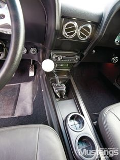 1969 ford mustang mach 1 interior