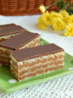 Jafa oblatne by Nenasr Cookie Recipes, Vegan Recipes, Dessert Recipes, Posne Torte, Serbian Recipes, Chocolate Wafers, Best Food Ever, Sweet Desserts, Bread Baking
