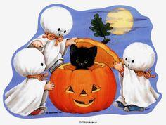 De Pegatinas de Halloween Clings