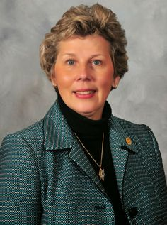 Julie Johnson, Kappa Delta, shares why she wears her badge.