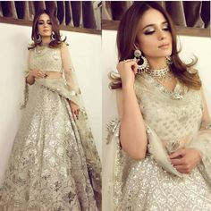 Pakistani Engagement Dresses For Brides In 2020 Pakistani Engagement Dresses, Indian Wedding Outfits, Pakistani Outfits, Indian Outfits, Indian Clothes, Indian Attire, Indian Ethnic Wear, Ethnic Suit, Indian Style