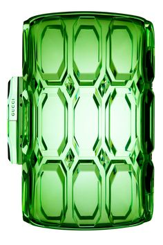 GUCCI | translucent green clutch |= (ACCESSORIES SHOW)