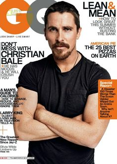 Who knew Christo had freckles? Call me crazy, but kinda digging it...#hot #ginger  #goatee #christian_bale #freckles