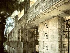 See Ennis House | Images of Charles Ennis (Ennis-Brown) House, 1923, by Frank Lloyd ...