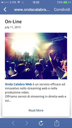 #ondacalabraweb.com #live #streaming #web #diretta #wedding #blog #facebook #sport #event #day #beautiful #party seguiteci sulla nostra pagina facebook #followme