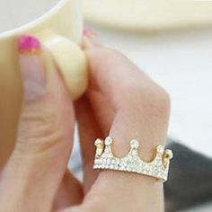 """Every princess should have a Crown ring!!  Especially the """"QUEEN"""" Victoria!"""
