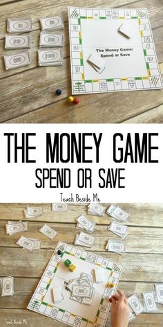 Love how @KayrnTripp teaches her kids about money through age-appropriate games!   Definitely using this financial literacy printable game inspired by @BethKobliner. MoneyGenius AD