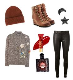 """Untitled #220"" by jxrew on Polyvore featuring Paul Smith, SOREL, Dolce&Gabbana, AG Adriano Goldschmied and Yves Saint Laurent"