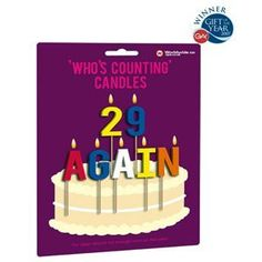 who's counting candles