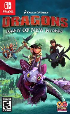 Playstation 4 Dreamworks Dragons : Dawn Of New Riders - in One Colour Games For Playstation 4, Xbox One Games, Ps4 Games, Xbox Xbox, Httyd, Hiccup And Toothless, Dreamworks Dragons, Dragon Games, Digimon