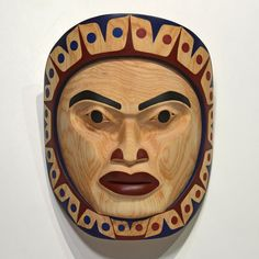 Spirit of the Moon Mask by Nina Bolton, Heiltsuk, Haida, Tsimshian artist (XN110406)