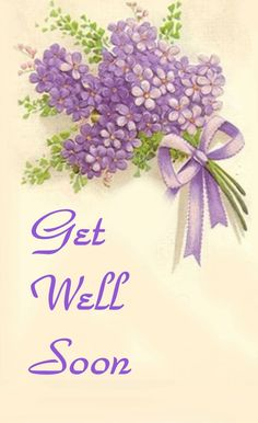 get well soon Sheree