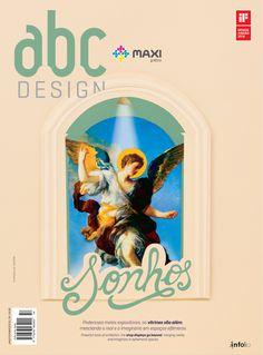 Capa da edição 54 da Revista abcDesign. A concepção gráfica é da Straub Design e a colagem é do colagista curitibano Alan Amorim.