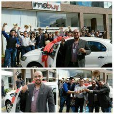 Premiação exclusiva para corretor Imobuy. Sorteio de um carro 0 km por meta de vendas. Parabéns ao feliz ganhador, corretor Iron, resultado de muito esforço e dedicação! #Imobuy #ImobuyNotícia #todecarronovo