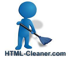 Online HTML code cleaner