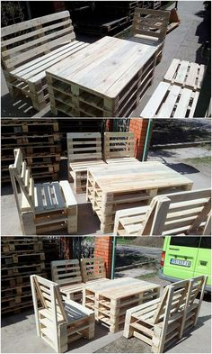 Sometimes the movement of the heavy designed outdoor furniture designs is rather difficult to do from one place to another. In all such prospects, we would bring you out with the mind-blowing idea of the pallet furniture concept that can act as best to arrange in your garden areas.