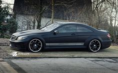 Prior Design Black Edition Widebody Mercedes Benz CL | Flickr - Photo Sharing!