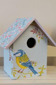 Vogelhuis pip early bird licht blauw